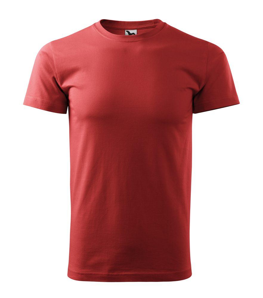 Adler Pánske tričko Basic - Bordó | XXXL