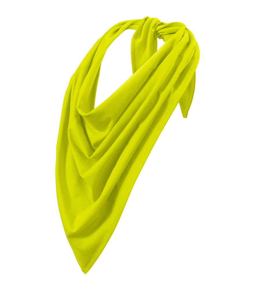 Adler (MALFINI) Šátek Fancy - Limetková | uni