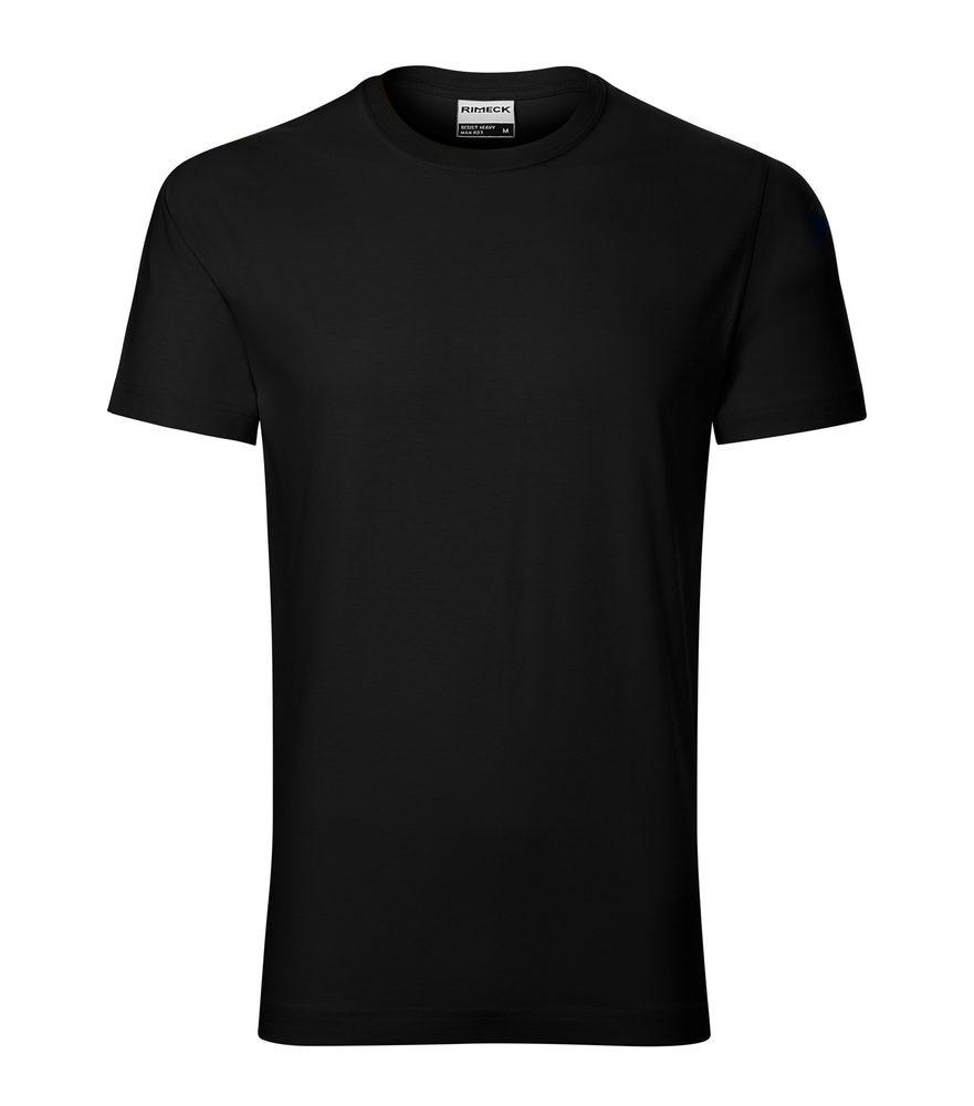 Adler Pánske tričko Resist heavy - Černá | XXXL