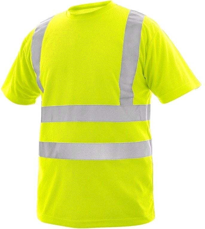Canis Pánske výstražné tričko LIVERPOOL - Žlutá | XXL