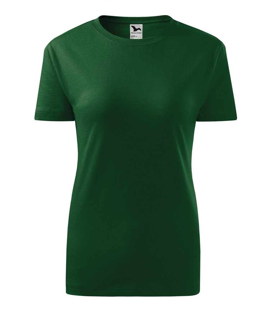 Adler Dámske tričko Classic New - Lahvově zelená | M