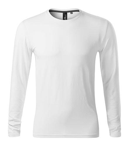 Adler Pánske tričko s dlhým rukávom Brave - Bílá | S