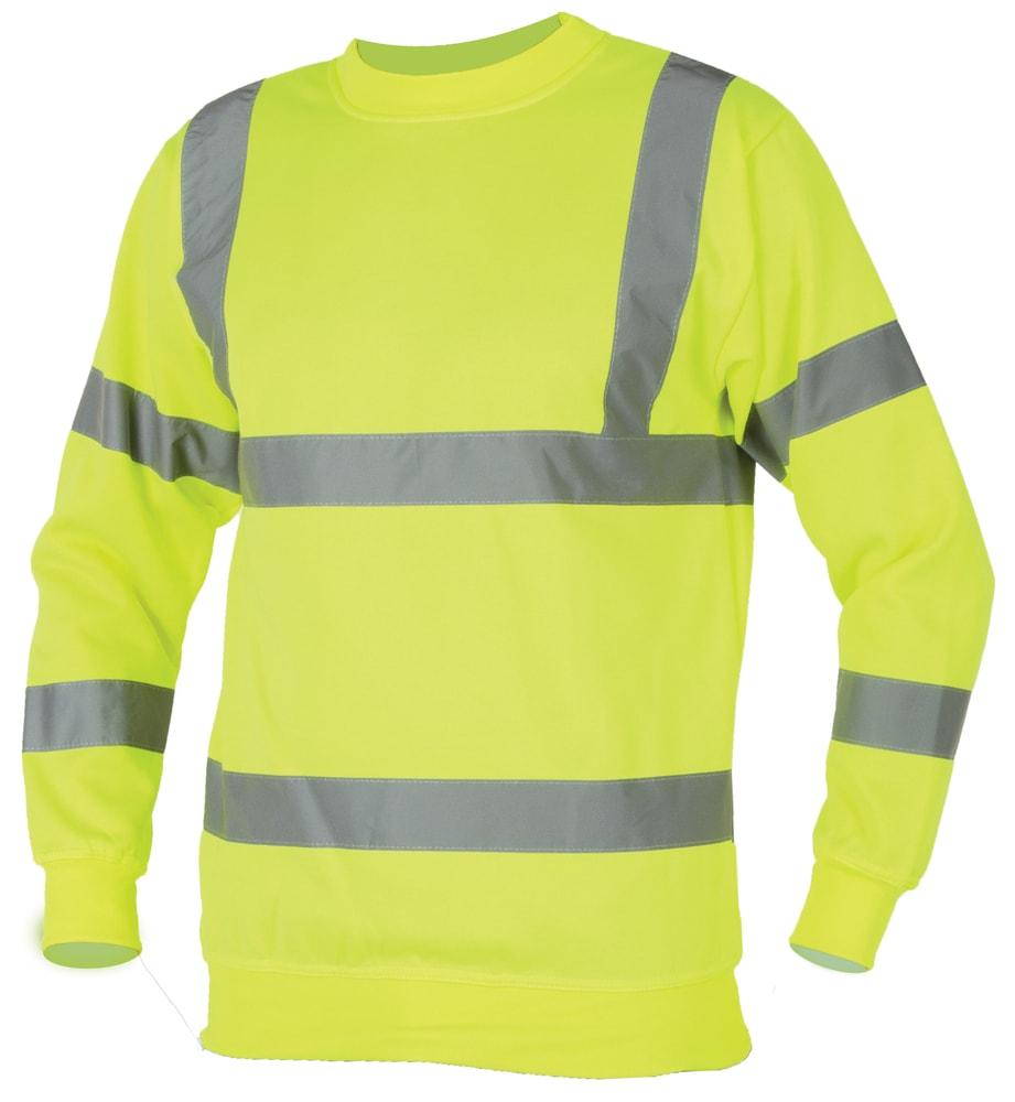 Ardon Žltá reflexná mikina - XL