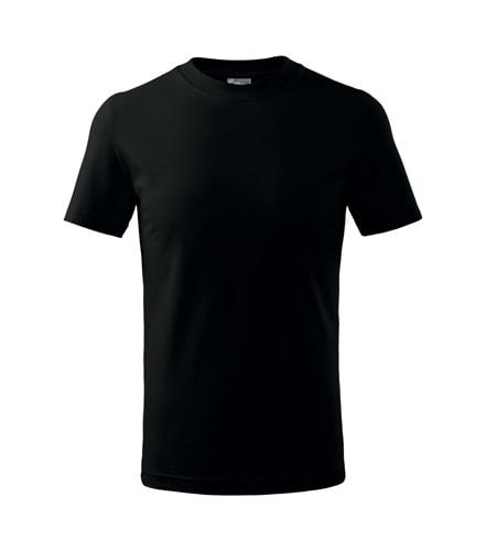 Adler Detské tričko Basic - Černá | 110 cm (4 roky)