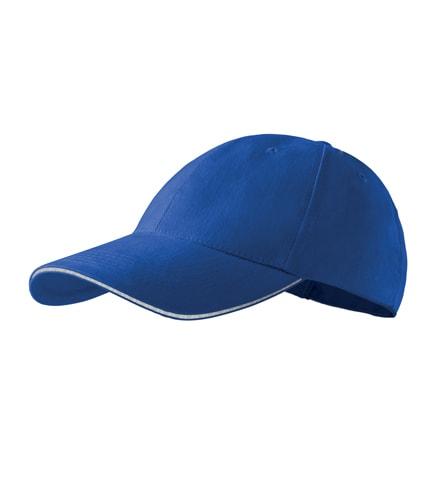 Adler Šiltovka 6P Sandwich - Královská modrá | uni