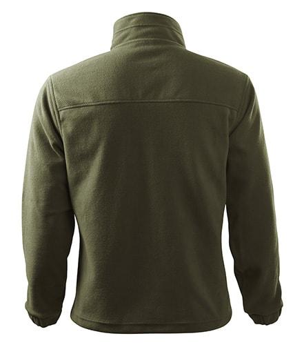 Adler Pánska fleecová mikina Jacket - Military | L