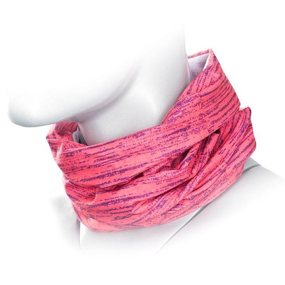Ardon Multifunkční šátek FLORET - Růžová