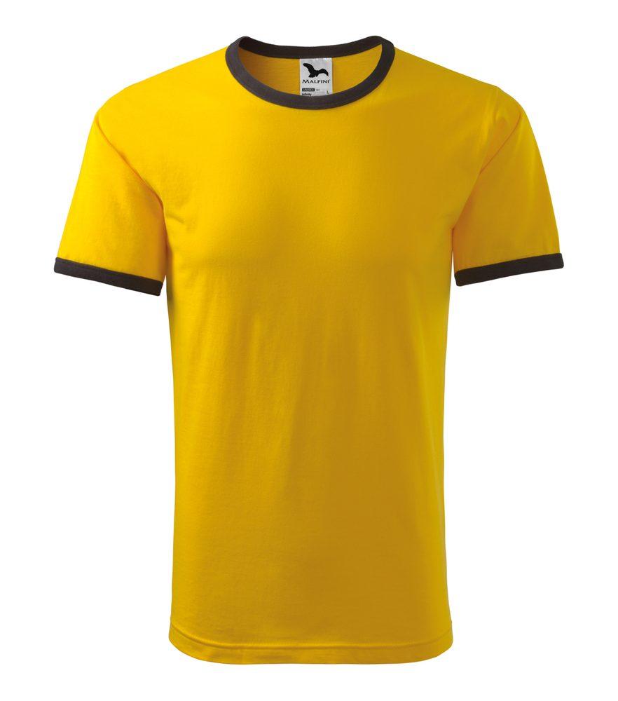 Adler (MALFINI) Tričko Infinity - Žlutá | S