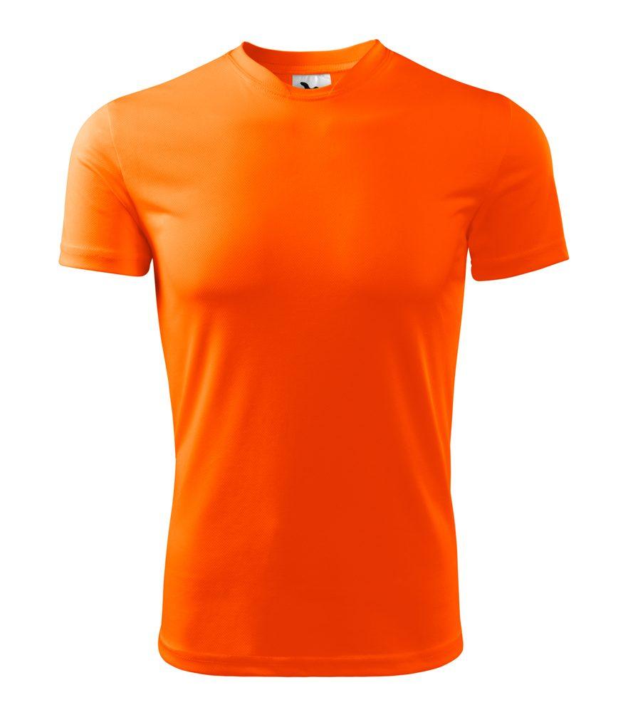 Adler Pánske tričko Fantasy - Neonově oranžová | S