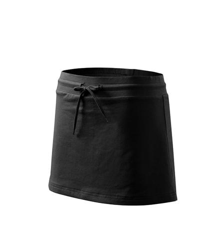 Dámská sukně Two in one - Černá   L