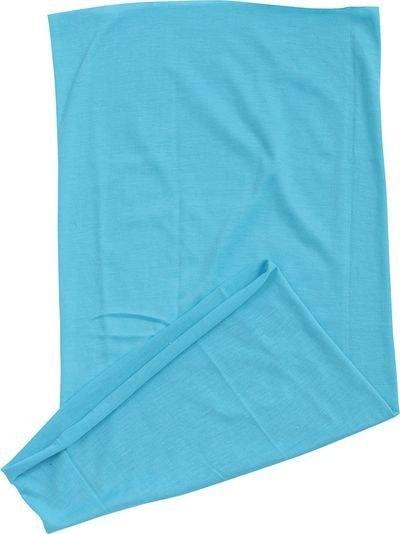 Myrtle Beach Multifunkční šátek MB6503 - Tyrkysová