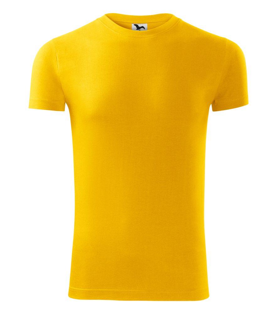 Adler (MALFINI) Pánske tričko Replay/Viper - Žlutá | L
