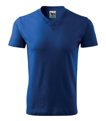 Adler Tričko V-neck - Královská modrá | M