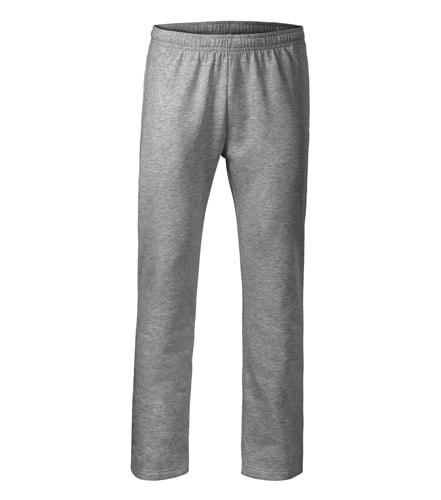 Adler Pánske/detské tepláky Comfort - Tmavě šedý melír | XXXL