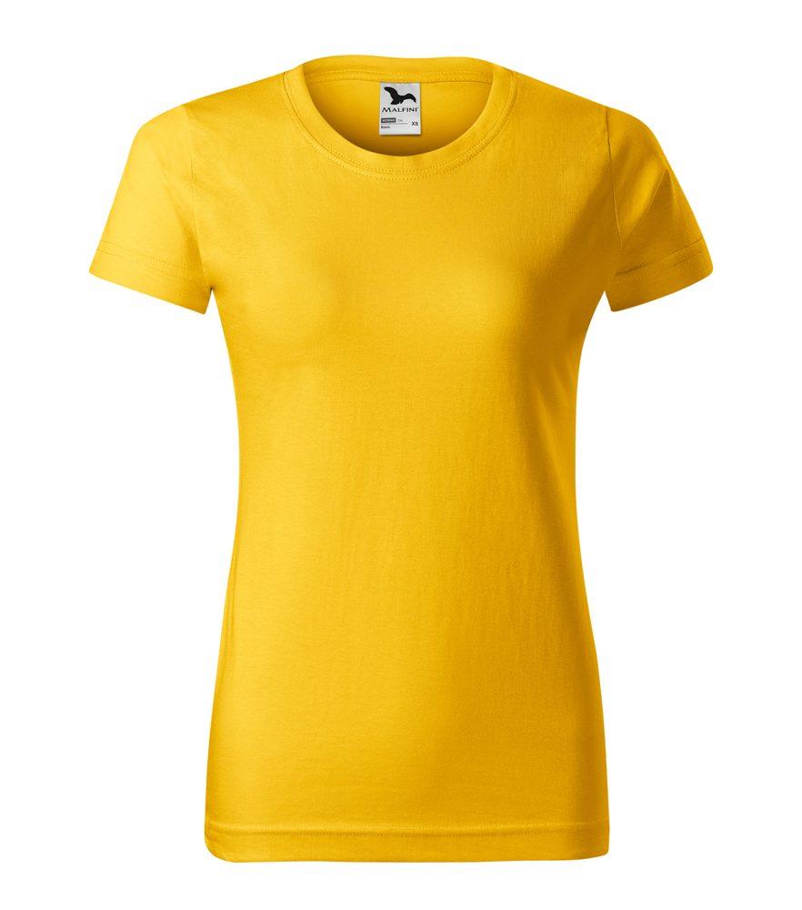 Adler Dámske tričko Basic - Žlutá | L