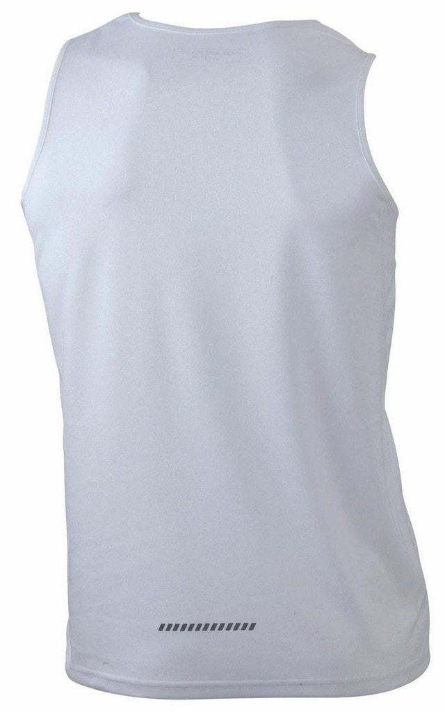 8441881539a7 Pánske športové tričko bez rukávov JN305 Oranžová   černá