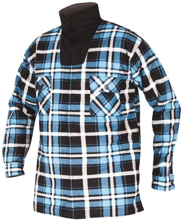 738b34558508 Pánska zimná flanelová košeľa