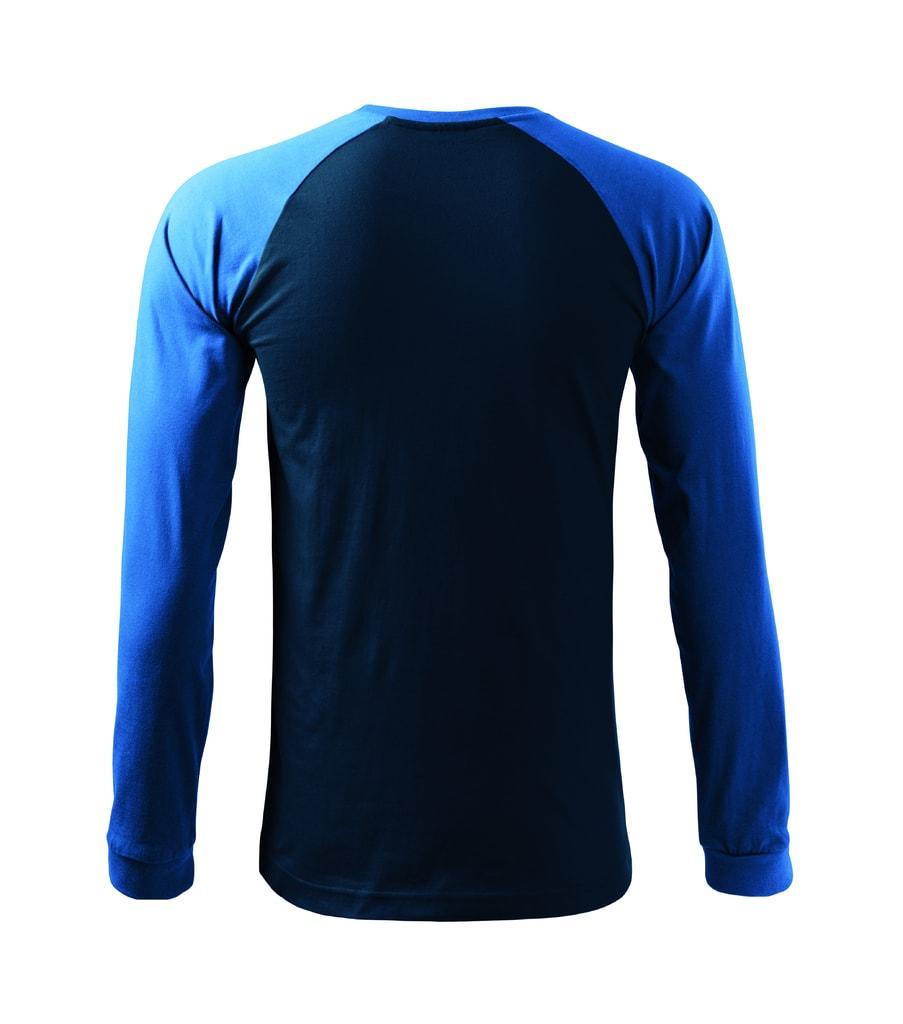 2a4f32af3 Pánske bavlnené tričko dlhý rukáv STREET - DobrýTextil.sk