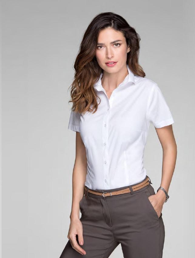 5668e91d7db8 Dámska košeľa s krátkym rukávom Flash - DobrýTextil.sk