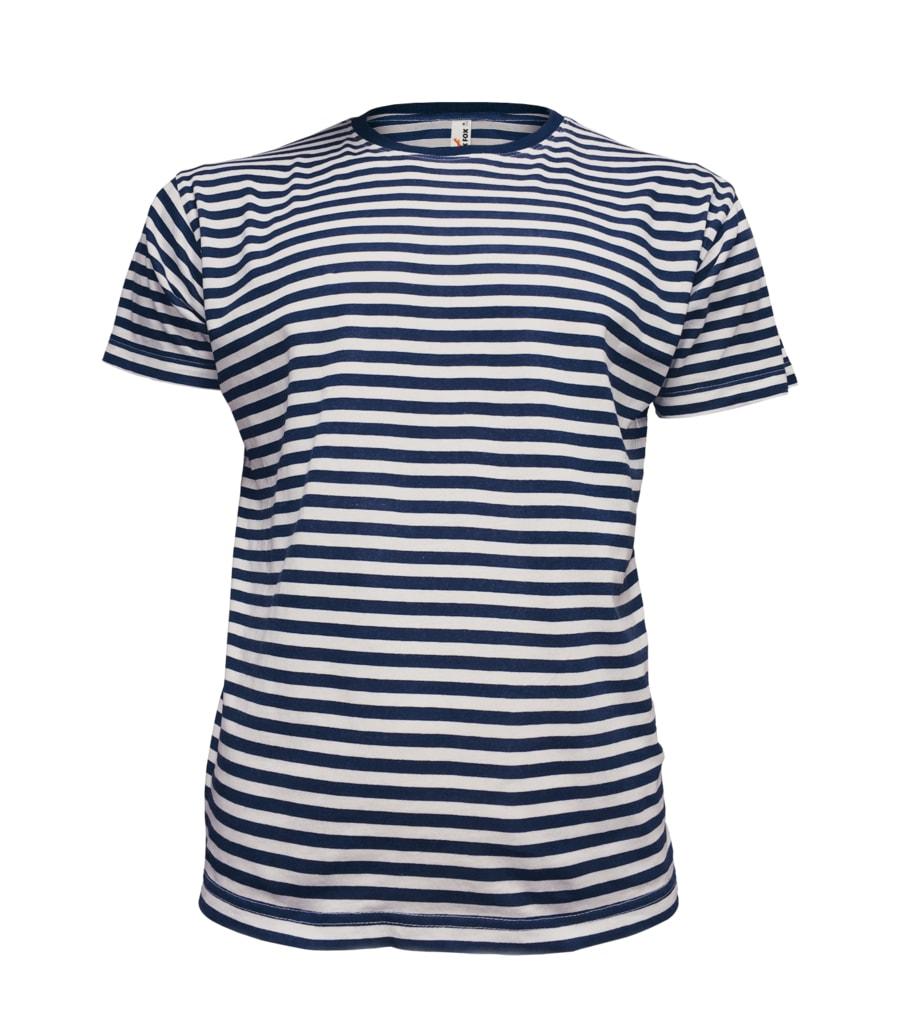 6e74e16f9 Pánske námornícke tričko s pruhmi - DobrýTextil.sk