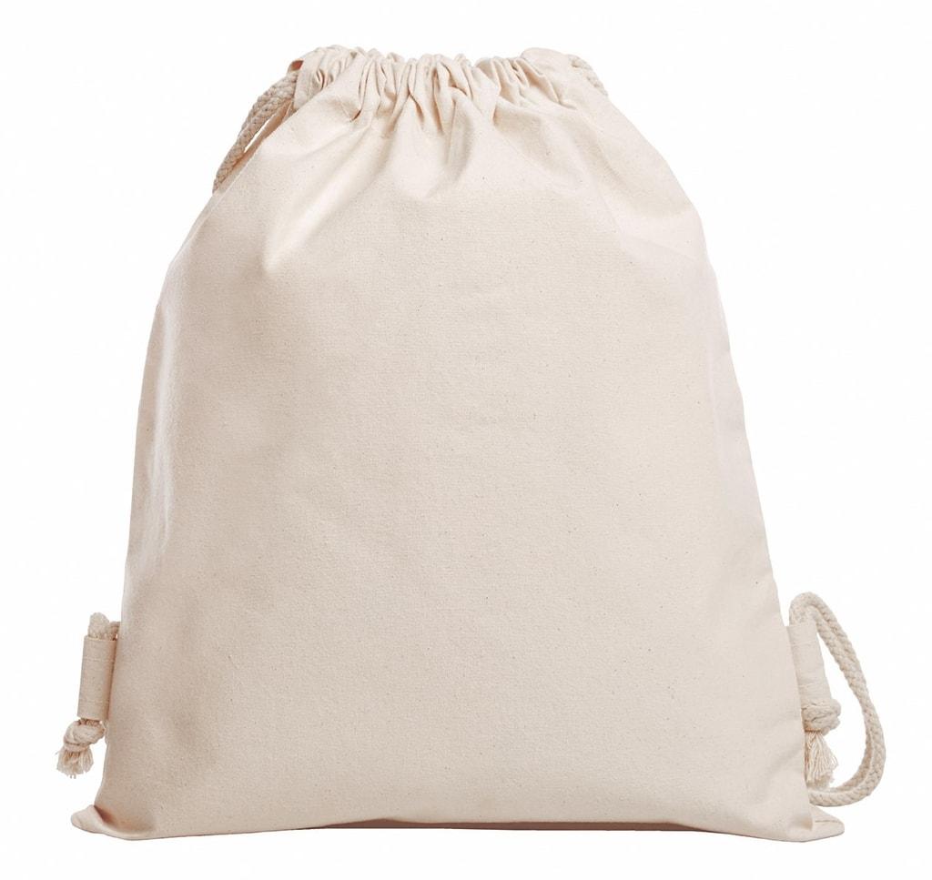 a2ee8bfc8deb0 Sťahovací batoh z bio bavlny ORGANIC - DobrýTextil.sk