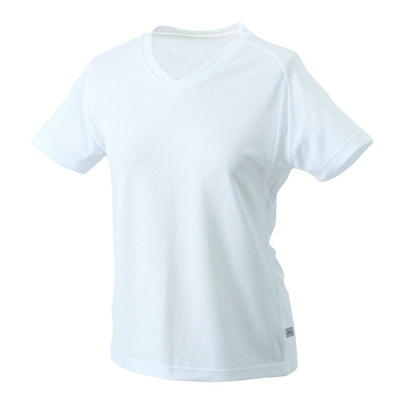c46ef194c0d8 ... Dámske športové tričko s krátkym rukávom JN316 Bílá   bílá