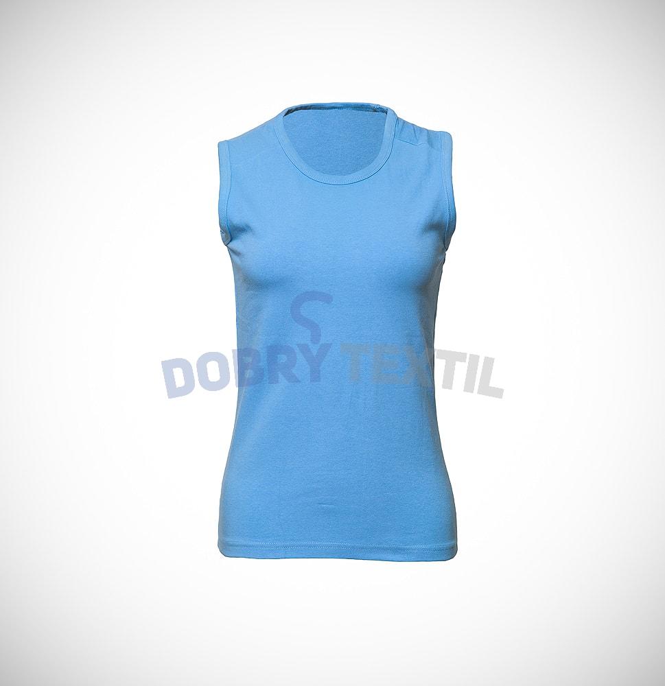 54a7fd5ed79c Dámske tričko bez rukávov (Světle modrá