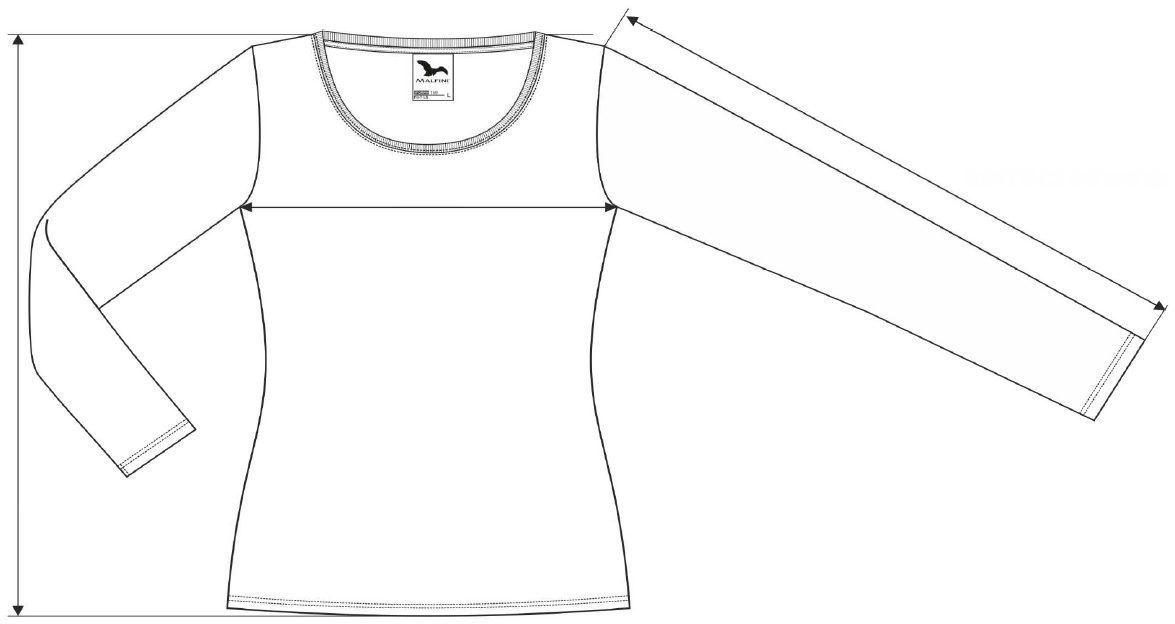 Dámské tričko s dlouhým rukávem Fit-T LS