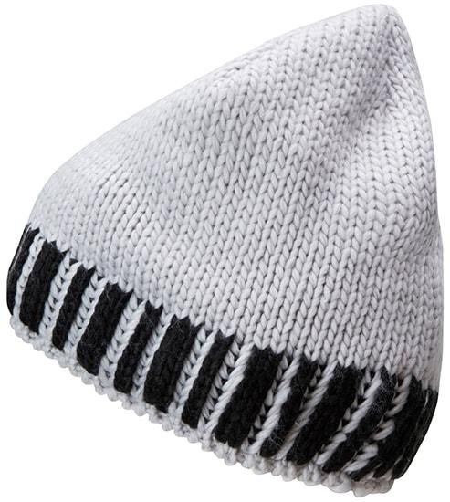 a0940c311 Pletená pánska zimná čiapka MB7106 Kobaltová / stříbrná