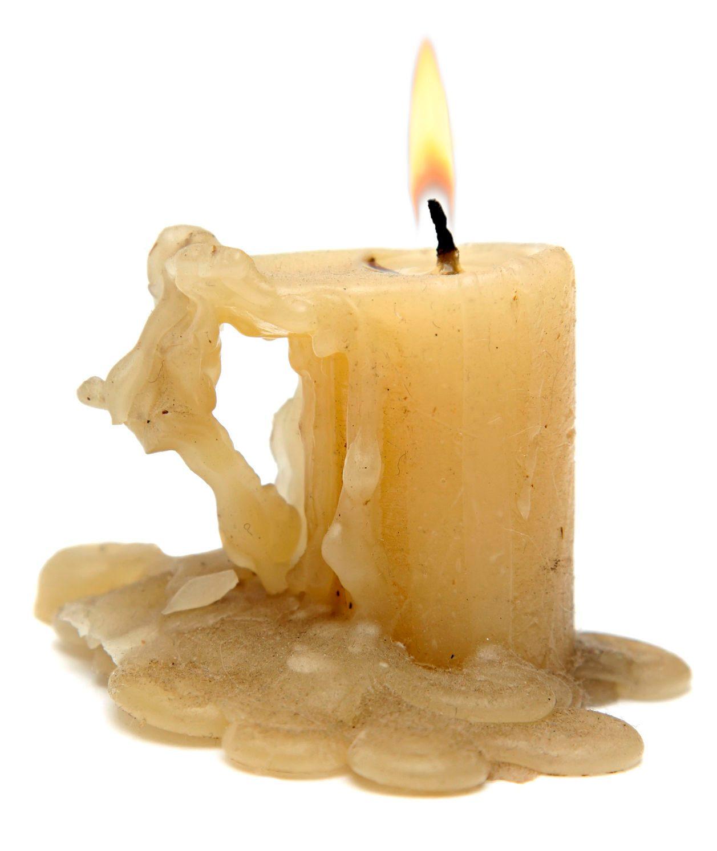 Svíčka s voskem