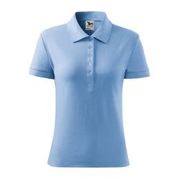 Tricou polo damă Cotton Heavy
