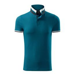 Tricou polo bărbați Collar Up