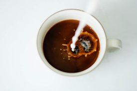 Káva s mliekom