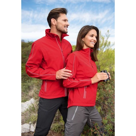 DÁMSKA BUNDA SOFTSHELL JACKET - SOFTSHELLOVÉ BUNDY -