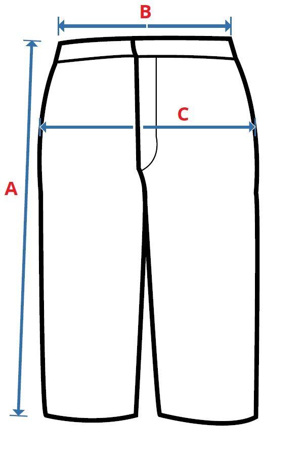 Pánské 3/4 kalhoty CXS LUXY PATRIK
