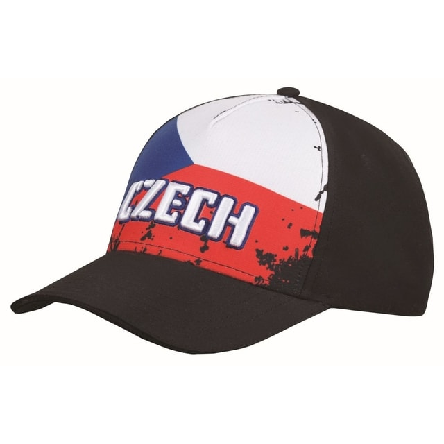Fan kšiltovka Czech flag