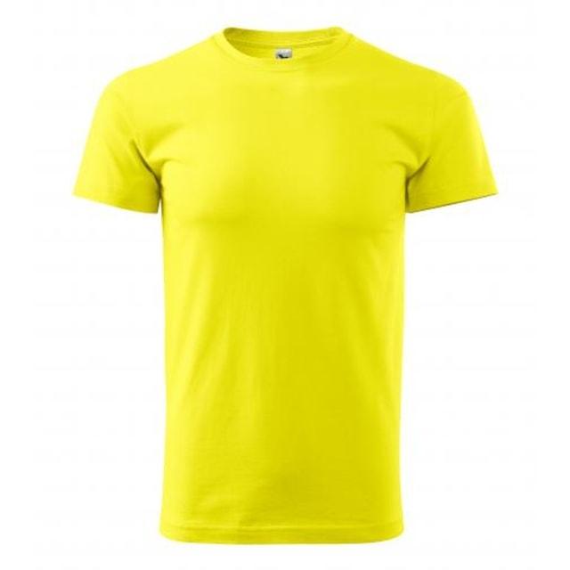 a81cc00f4aba Pánske tričko Basic (Citrónová