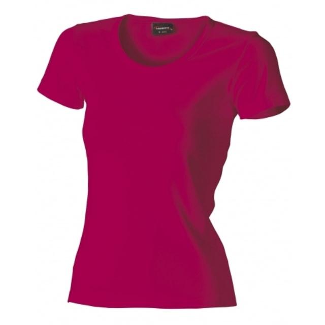 988dbe32c843 Dámske tričko HEAVY (Fuchsiová