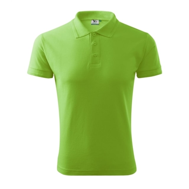Pánská polokošile Pique Polo (Apple green | S)