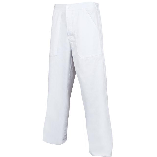 cdc0f8d262fa Pánske biele pracovné nohavice (58)