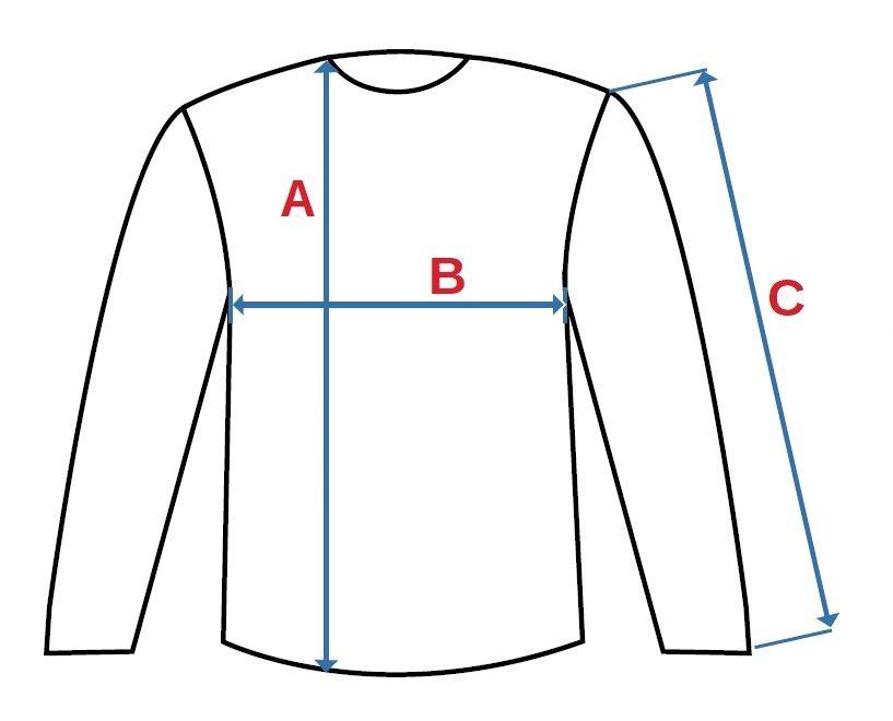 Pánské tričko s dlouhým rukávem PETR