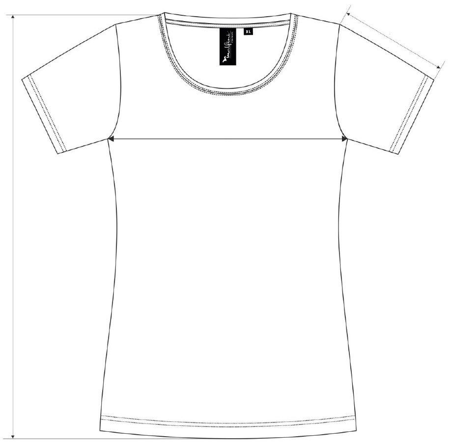 Dámské merino triko