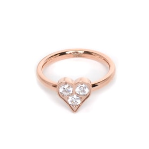 Inel Heart Rosegold