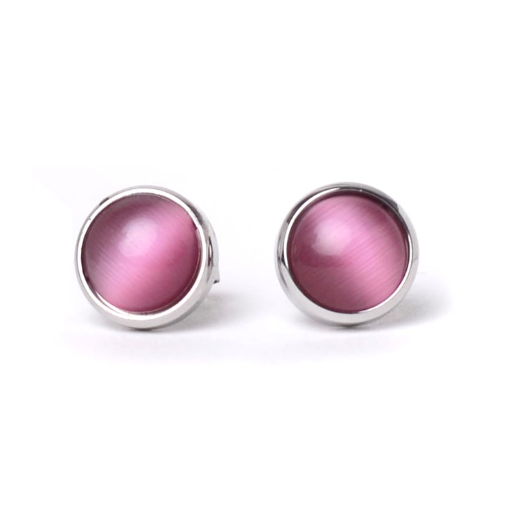 Cercei Pearl Silver Pink
