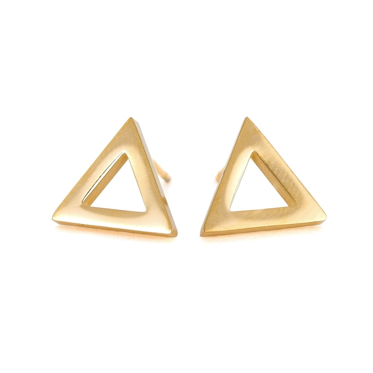 Cercei Triangle Gold
