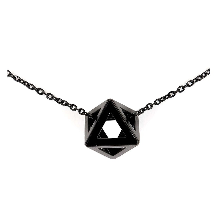 Colier Triangle Black