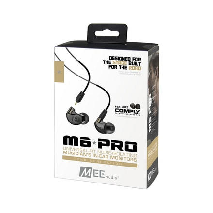 MEE audio M6 PRO 2nd gen smoke