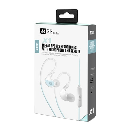 MEE audio X1 mint / white