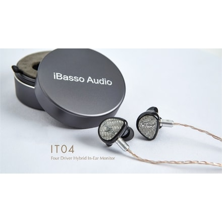 iBasso IT04 silver