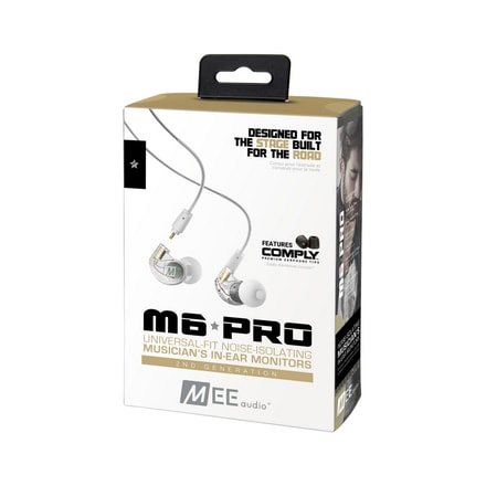 MEE audio M6 PRO 2nd gen clear